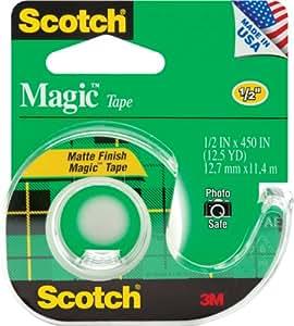 Scotch Magic Tape, 1/2 x 450 Inches (104)