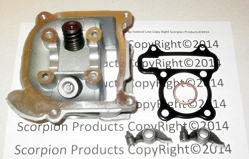 Scooter High Performance Racing Head 100cc Big Bore Big Valve Head 23mm GY6 50cc (Ebay Scooter Freestyle compare prices)