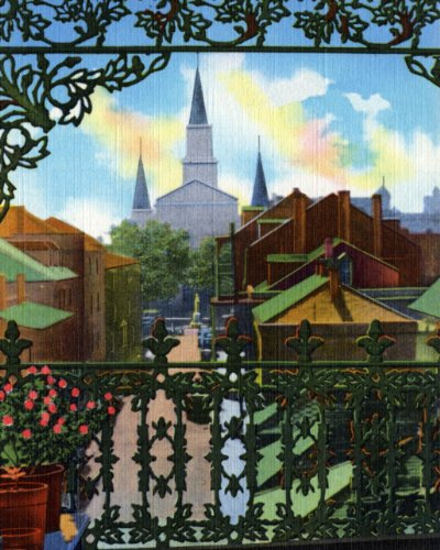 French Quarter Lacework, New Orleans - Fine-Art