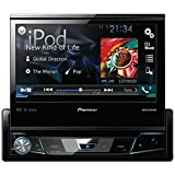 Pioneer AVH-X7700BT Single Din DVD Receiver with 7″ Flip-out Display, Bluetooth, Siri Eyes Free, Android Music Support and Pandora