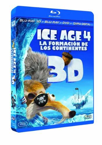 Ice Age 4 (Blu-ray 3D + Blu-ray + DVD + Copia