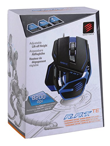 Mad Catz R.A.T.TE Gaming Maus, Matt