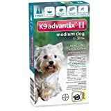 Advantix Flea and Tick Spray for Dogs Up to 11-20-Pound, Light Brown