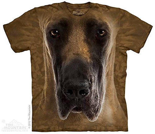 Animal T-Shirt - (Great Dane Face) - Adult S