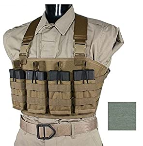 Specter Gear 7.62NATO Rapid Reload Chest Carrier, Foliage Green