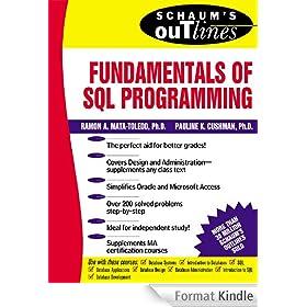 Schaum's Outline of Fundamentals of SQL Programming