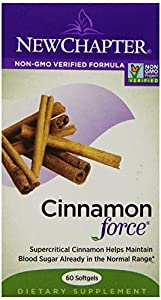 New Chapter Cinnamon Force, 60 Softgels