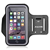 Ailkin Running Sports Armband Designed For Apple IPhone 6 Plus, Samsung Galaxy Note 4 / 3 / 2, Droid Turbo And...