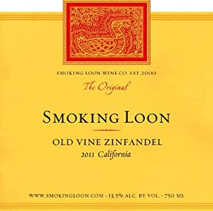 2011 Smoking Loon Old Vine Zinfandel 750 mL
