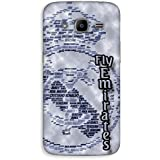 Mott2 Back Case For Samsung Galaxy J2 2016 | Samsung Galaxy J2 2016Back Cover | Samsung Galaxy J2 2016 Back Case - Printed Designer Hard Plastic Case - Real Madrid C.F Theme - B074DVH6N8