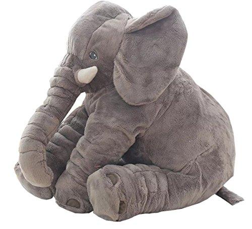 yunnasi-stuffed-elephant-plush-pillow-for-sleeping-and-children-long-nose-elephant-grey