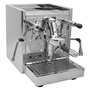 ECM 85344 Technika Profi WA Espressomaschine mit Wasseranschluss, Edelstahl poliert