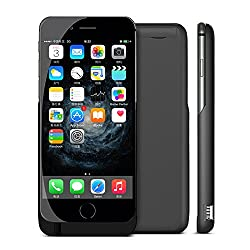 JT iPhone 6 Plus/ 6S Plus Battery Case, 10000mAh External Protective iPhone 6 Plus/ 6S Plus Charger Case / iPhone 6 Plus / 6S Plus Charging Case Extended Backup Battery Pack Cover Case Fits with Any Version of Apple iPhone 6 Plus/ 6S Plus, Not Compatible for 6S