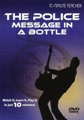 TEN MINUTE TEACHER - THE POLICE - MESSAGE IN A BOTTLE (DVD)