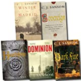 C. J. Sansom The Matthew Shardlake Series Collection C. J. Sansom 5 Books Set (Dominion, Heartstone, Sovereign, Dark Fire, Winter in Madrid)