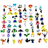 Syeer Mini Cute Pokemon Random Pearl ct Figures Toy Nice for Party Gifts 72Pcs 2-3cm/Pcs
