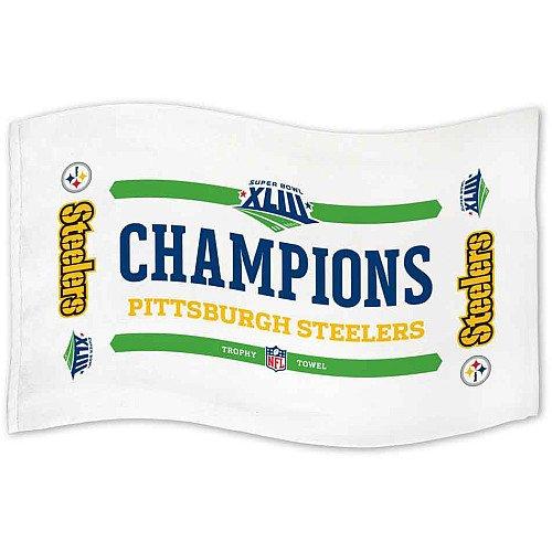 Gatorade Super Bowl Towel: McArthur Pittsburgh Steelers Super Bowl XLIII Champions