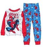 Spider-Man Little Boys Long Sleeve Cotton Pajama Set