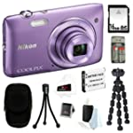 Nikon COOLPIX S3500 20.1MP Digital Ca...