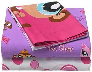 Littlest Pet Shop Twin Sheet Set