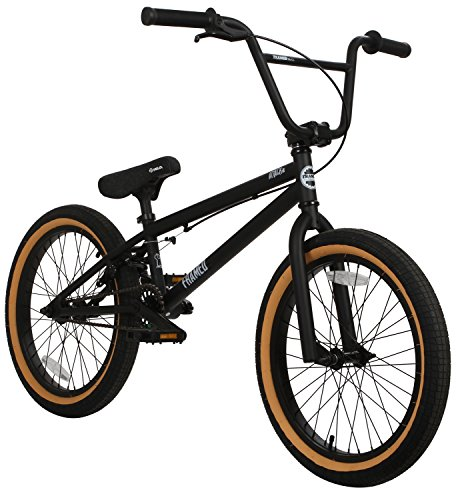 Framed-Attack-Pro-BMX-Bike-BlackBlack-Sz-20in