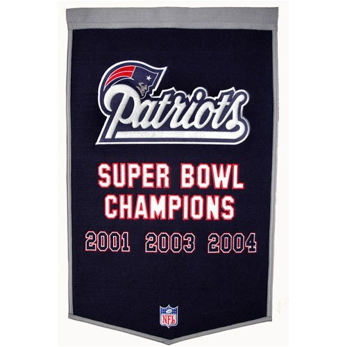 New England Patriots Dynasty Banner (Patriots Banner Champions compare prices)