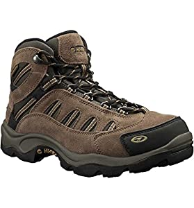 Hi-Tec Men's Bandera Mid WP Hiking Boot,Bone/Brown/Mustard,8 3E US