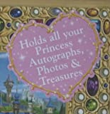 Disney Parks Princess Autograph and Photo Book NEW