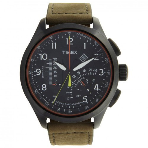 timex-mens-quartz-watch-with-black-dial-analogue-display-and-beige-leather-strap-t2p276