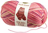 Lion Brand Yarn 240-205L Sock-Ease Yarn, Cotton Candy Thumbnail Image