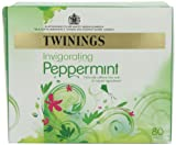 Twinings Pure Peppermint 80 Teabags (Pack of 2, Total 160 Teabags)