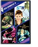 Cover art for  Children's Fantasy: 4 Film Favorites (The Secret Garden / 5 Children & It / The Witches / The Neverending Story)