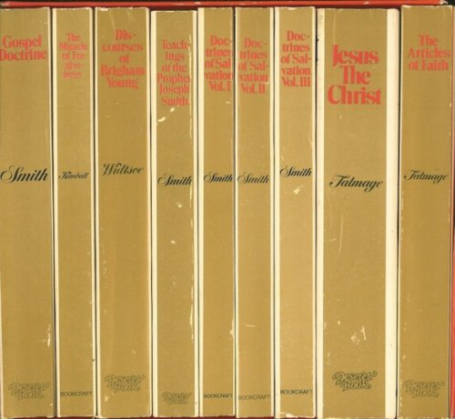Missionary Boxed Set of 8 Paperback Volumes (Smith, Kimball, Talmage, Widtsoe), KIMBALL, WIDTSOE, TALMAGE SMITH
