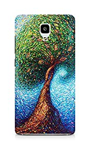 Amez designer printed 3d premium high quality back case cover for Xiaomi Mi 4 (Colorful Tree)