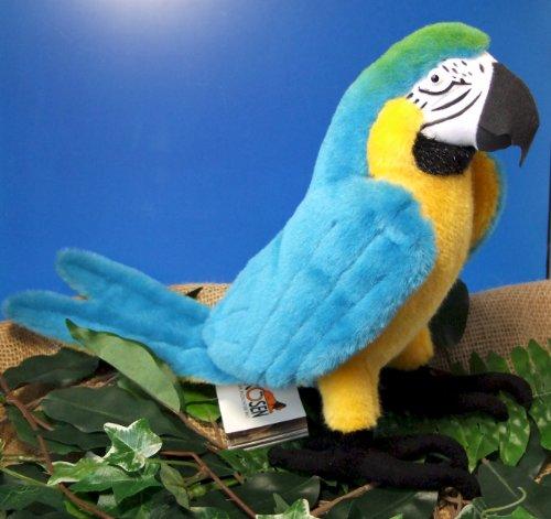 Unbekannt Kösener 6380 - Gelbbrust Ara 34 cm Blue and Yellow MACAW