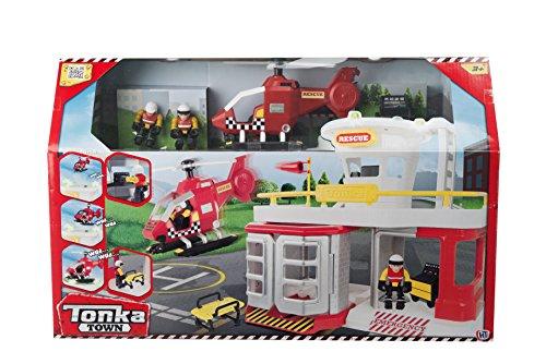 tonka-town-air-rescue-station-play-set
