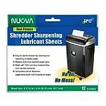 Nuova SP12 Shredder Sharpening & Lubr...