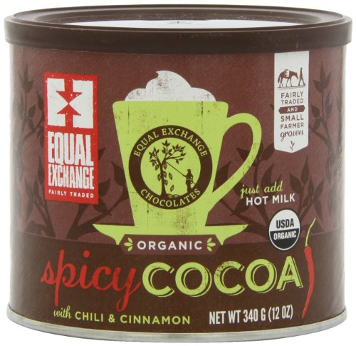 Equal Exchange Spicy Hot Cocoa, 12-Ounce Cans (Pack of 3) (Spicy Hot Chocolate compare prices)