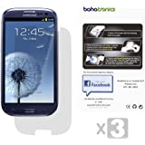 Samsung©Galaxy S3 i9300 Screen Protector (Anti-Glare Anti-Fingerprint) 3 pack