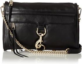 Rebecca Minkoff MAC Convertible Cross-Body Bag, Black,One Size