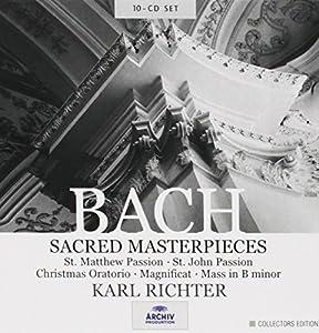 Bach : Les Oeuvres Sacrées (Coffret 10 CD)
