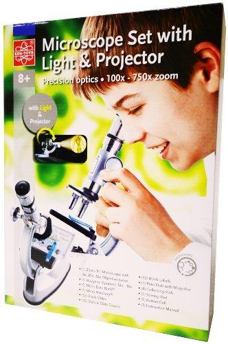 Elenco 100X-750X Zoom Microscope Set Toy, Kids, Play, Children