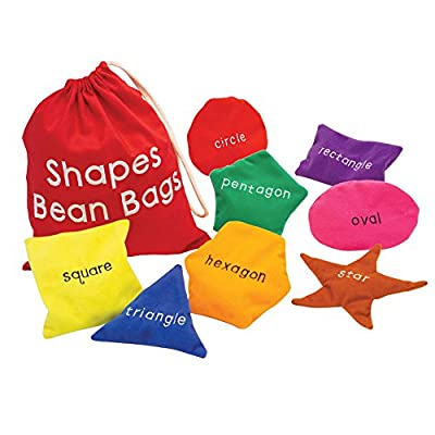 Educational Insights Shapes Bean Bags by Educational Insights