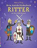 Mein Anzieh-Stickerbuch: Ritter: Usborne zum Mitmachen