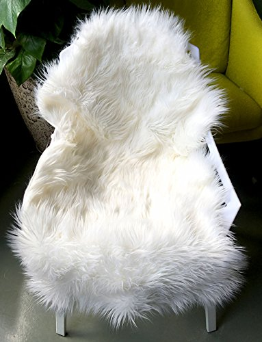 ojia-deluxe-soft-faux-sheepskin-chair-cover-seat-pad-plain-shaggy-area-rugs-for-bedroom-sofa-floor-i