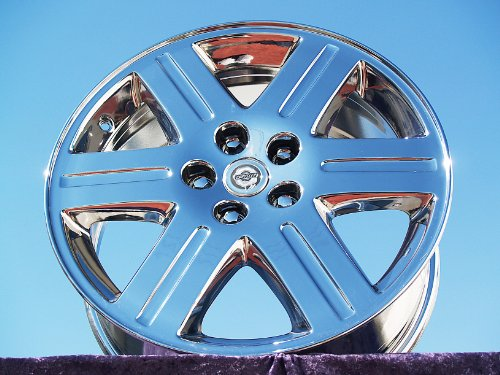 Chrysler 300 AWD: Set of 4 genuine factory 18inch 