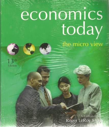 Economics Today: The Micro View [With Access Code]