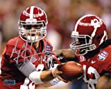 A.J. McCarron Autographed/Signed Alabama Crimson Tide 8x10 NCAA Photo with Eddie Lacy at Amazon.com