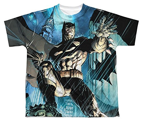 Dark Knight Batman Costume All Over Print Youth Front T-Shirt