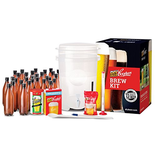 Coopers DIY Home Brewing 6 Gallon Craft Beer Making Kit (Beer Making Spoon compare prices)
